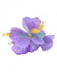Hårspænde blomster violet Hawaii