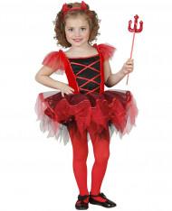 Udklædningsdragt Djævleballerina Barn