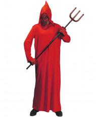Rødt dæmonkostume voksen Halloween