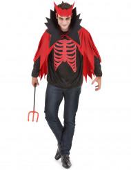 Udklædning rød djævel mand halloween