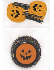Halloween cupcakes forme og madpinde
