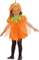 Græskar-kostume med pailletter børn Halloween