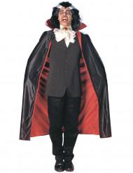 Vendbar vampyrkappe voksen Halloween