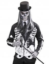Udklædning skeletjakke mand