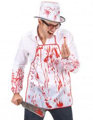 Blodigt forklæde voksen Halloween