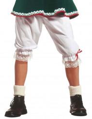 Bukser lange hvide til voksne