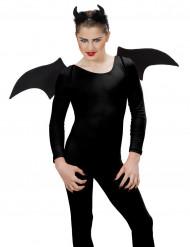 Sort demonsæt Halloween