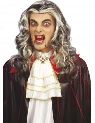 Tofarvet vampyrparyk voksen Halloween