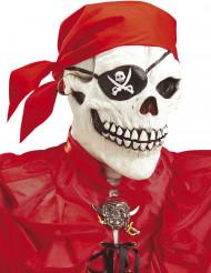 Piratskelet maske voksen Halloween