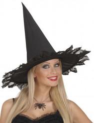 Halskæde med spindelvæv og similisten voksen Halloween