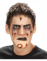 Falsk zombie hage Halloween voksen