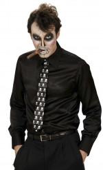 Slips med skelet voksen Halloween