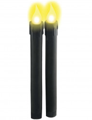 Lys lysende sorte til batterier