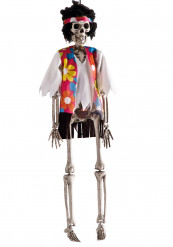 Dekoration hippie skelet Halloween