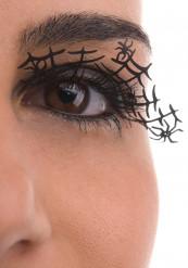 Kunstige øjenvipper med spindelvæv voksen