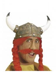 Rød moustache galler voksen