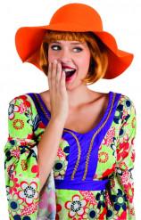 Orangefarvet hat voksen