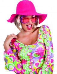 Lyserød hat voksen