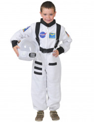 Hvidt astronautkostume barn