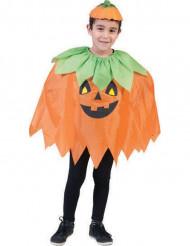 Halloween græskar poncho til børn
