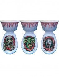 Dekoration WC-bræt Halloween