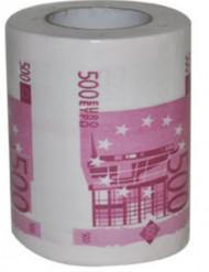 Toiletpapir humor 500 euro sedler