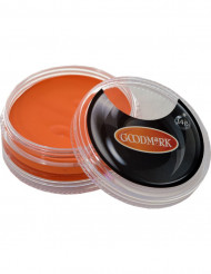 Orange vandfarve