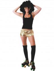 Shorts skinnende guld til kvinder