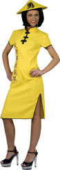 Kostume kinesisk gul til kvinder