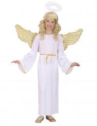 Kostume engel forgyldt til børn