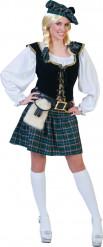 Skotsk inspireret kostume dame