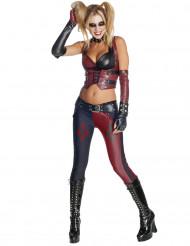 Kostume Harley Quinn Batman Arkham City™ voksen