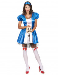 Kostume prinsesse Alice fra Drømmelandettil kvinder Halloween