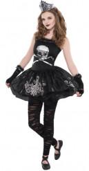 Uhyggelig ballerinadragt unge Halloween