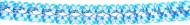 Oktoberfest guirlande blå og hvid