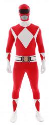 Rød dragt Morphsuits™ Power Rangers™ voksen