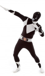Sort dragt Morphsuit™ Power Rangers™ til voksne