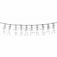 Guirlande skeletter 3 m