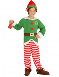 Kostume alf striber til børn jul