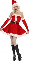 Kostume julekjole med pailletter