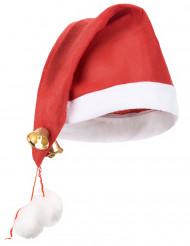 Nissehue med bjælder voksen jul