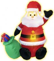Dekoration Oppustelig Juilemand med lys 120 cm jul