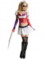 Kostume Harley Quinn sygeplejerske Arkham City™ voksen
