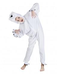 Isbjørnedragt til børn
