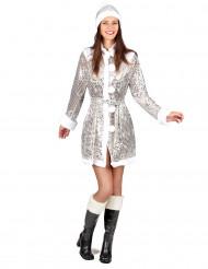 Jakke sølv jul til kvinder