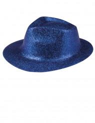 Glitrende blå hat voksen