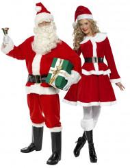 Parkostume julemand og julemor