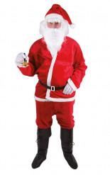 Kostume Julemand til voksne i plys