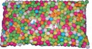 Pose med 500 pusterørskugler i alle farver