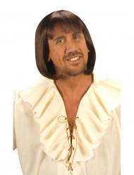 Brun middelaldersparyk mandestørrelse